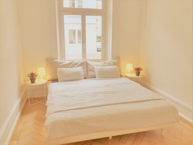 Beautiful Room Zurich Center (1-3pax)