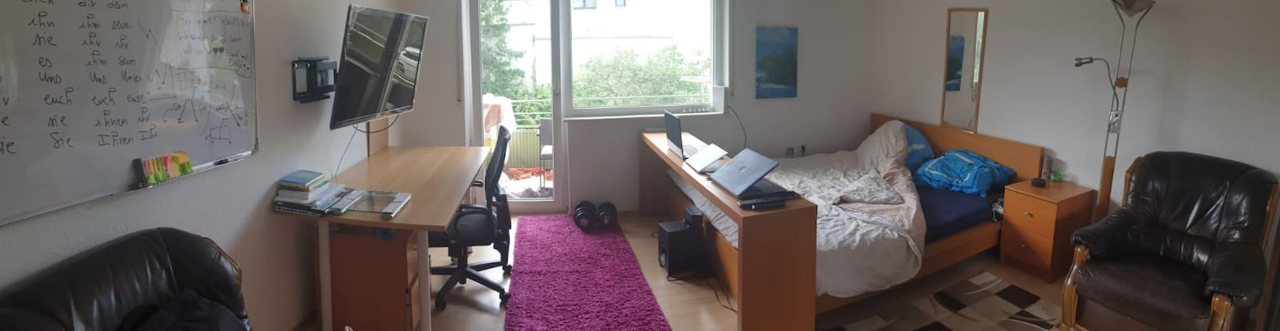 Middle of Darmstadt City - Room in shared flat