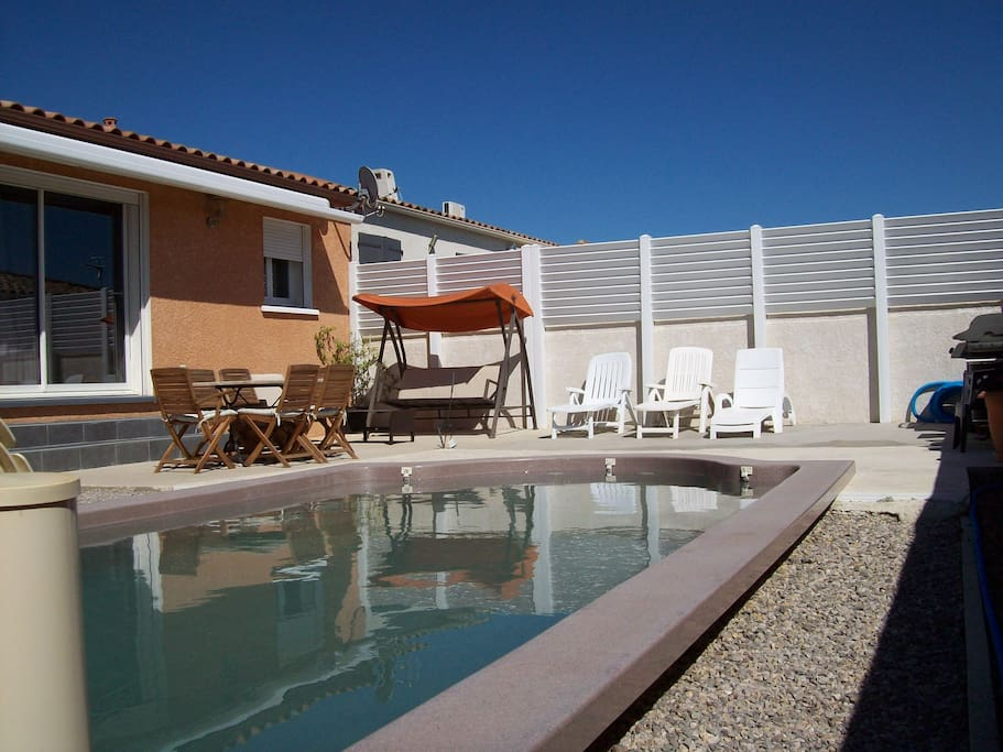agreable villa 6 personnes avec piscine privative