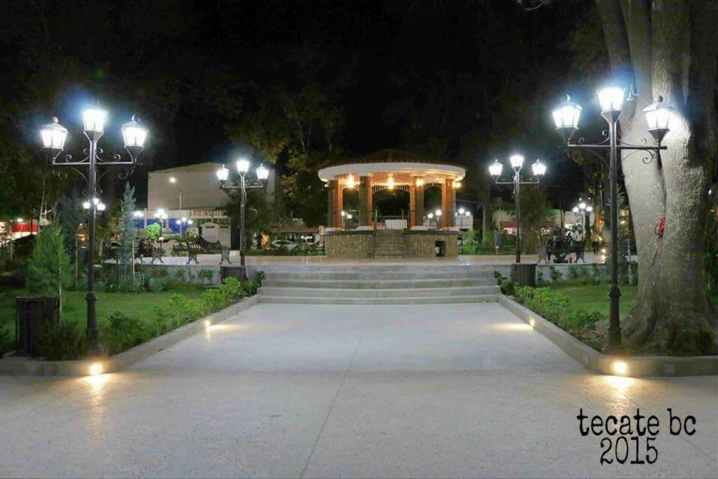 """Just recently renovated park , Tecate, """"pueblo magico"""""""