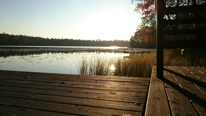Cozy cabin by the lake