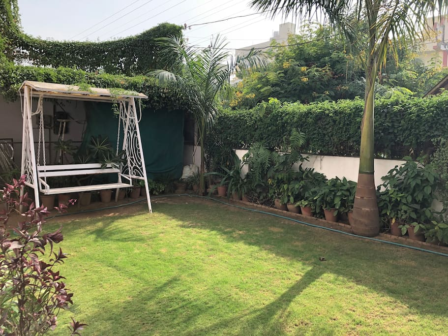 A beautiful garden a area which makes feel travelers close to nature!