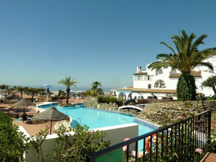 Nerja, Capistrano village,Contemporary apartment