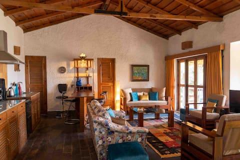 ラグジュアリーなヒマラヤの家「Iris Cottage」