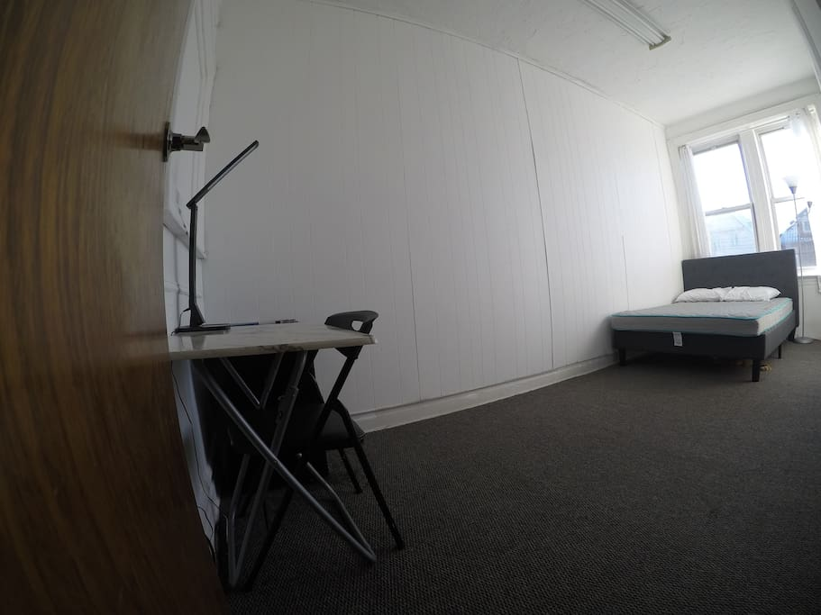 side view of your room