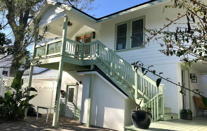 Breezeway Cottage, 7min walk to historic downtown