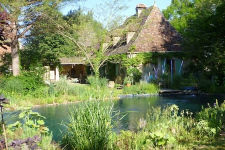 maison d'hôtes au bord de la rivière Dordogne - Bergerac - Haus