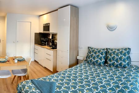 Cosy studio (RER:600m,Chatelet:29 min,Orly:20 min)