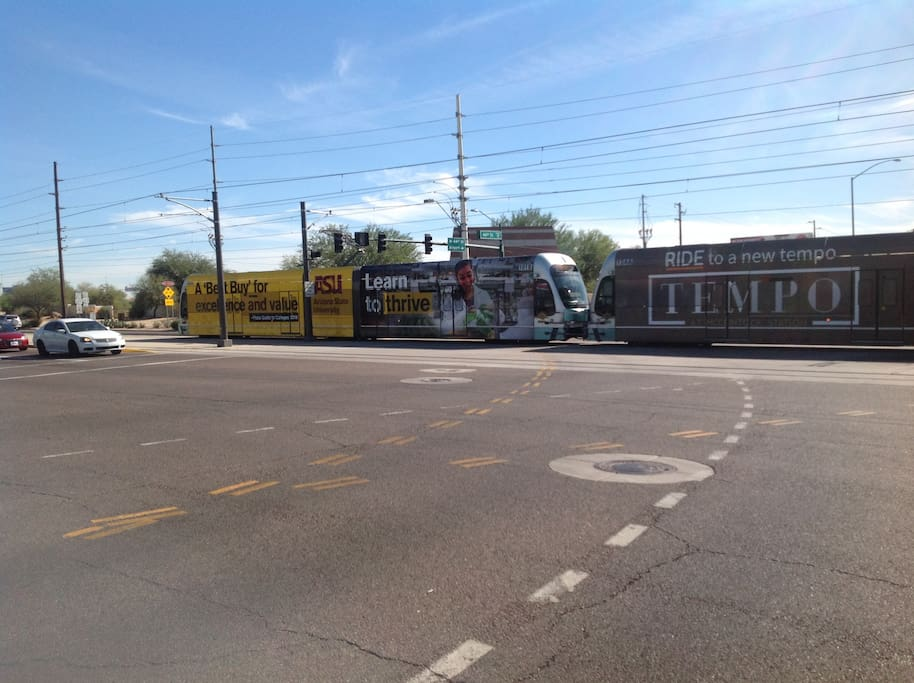 Light rail station located less than one mile!! Access the entire metro Phoenix area!