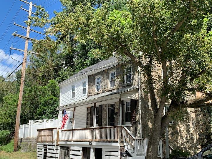 The Patapsco/Mello-Ray River House