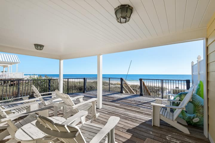 Deal>1/15-18 $1241☼BeachFRONT Home☼Amazing Views☼2 Step Sanitizing☼Hanging Out
