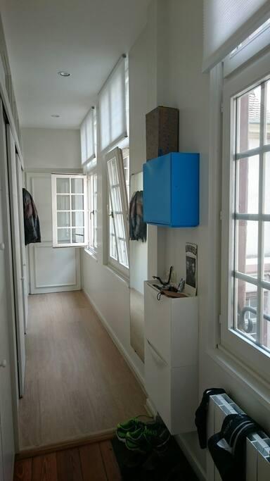 belle appartement lumineux au 1er étage