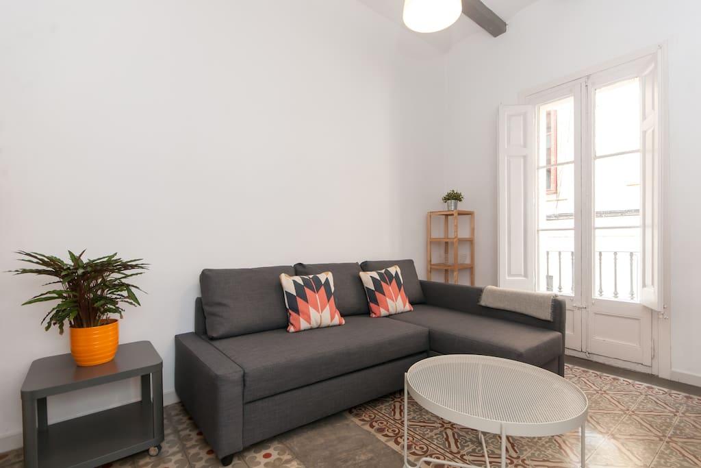 Low cost flat near park guell appartamenti in affitto a for Appartamenti barcellona centro low cost
