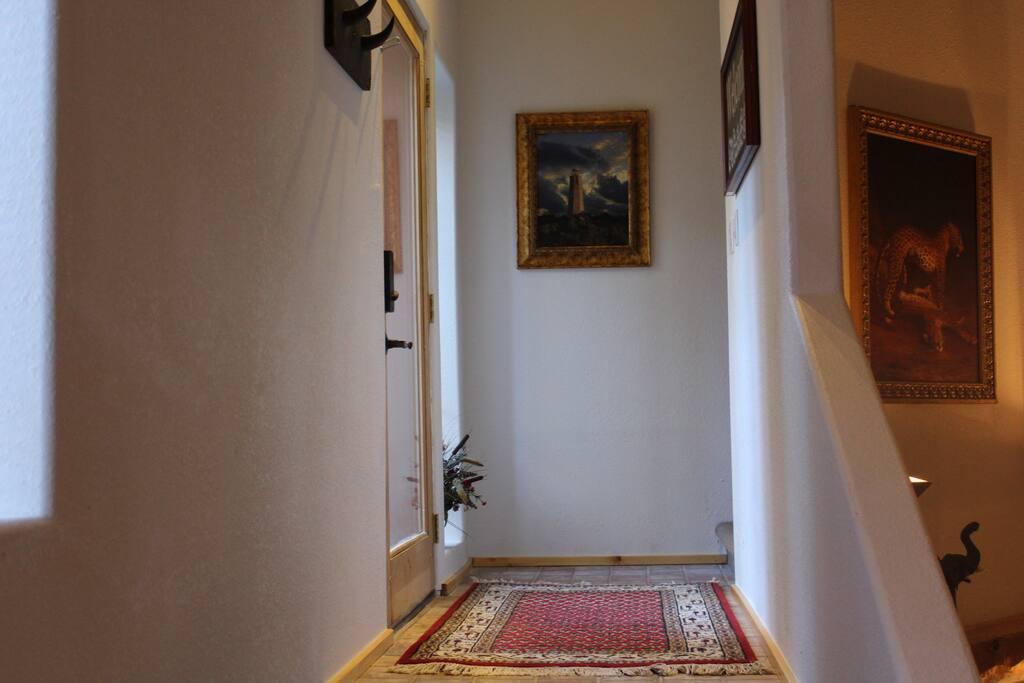 Ground level entrance foyer