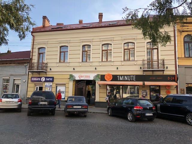 Wonderful flat on city center (Mukachivska 4/17)