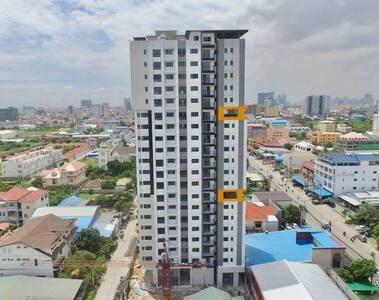 The Garden Residency 2BD-Unit503 Condo, Phnom Penh