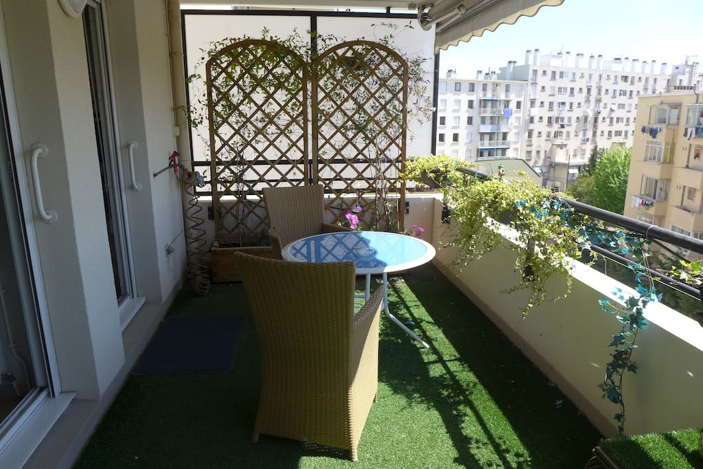 La terrasse du rouet appartements louer marseille for Location appartement marseille terrasse