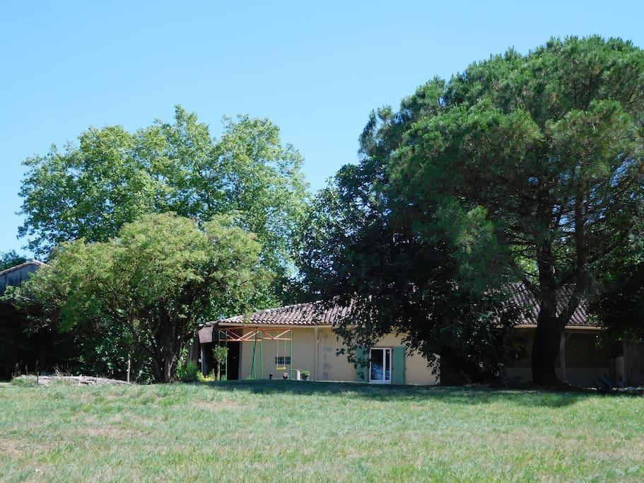Jardin et prairie du Petit Mas de Mirelaure