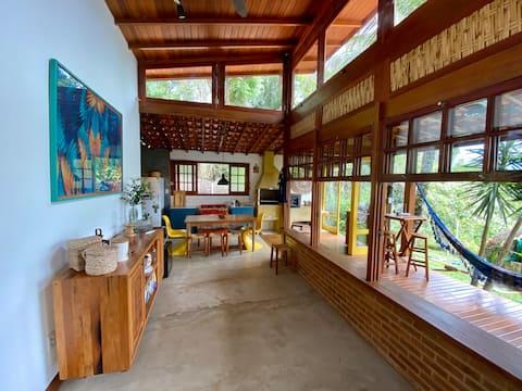Casa Vista para o Mar na Ilha do Araújo - Paraty