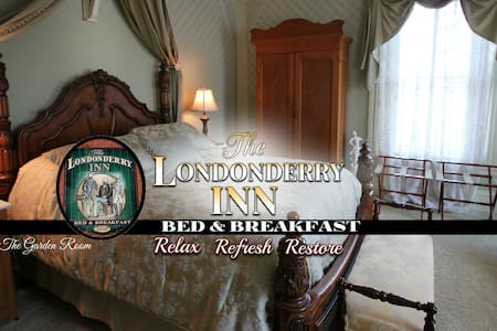 THE LONDONDERRY INN B&B's Garden Room - Palmyra - Bed & Breakfast