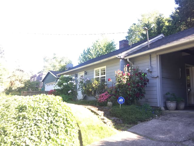 *Multnomah Village* HOUSE NOT APT.  Dogs Welcome!