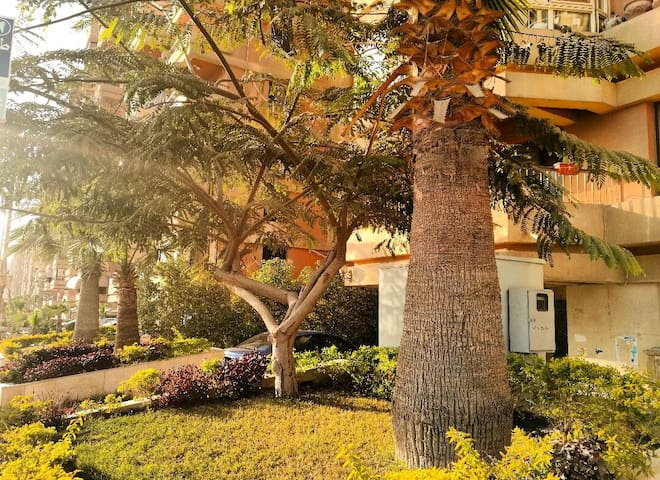 Large apartment in Maadi+parking - Zahraa Maadi - Lejlighed
