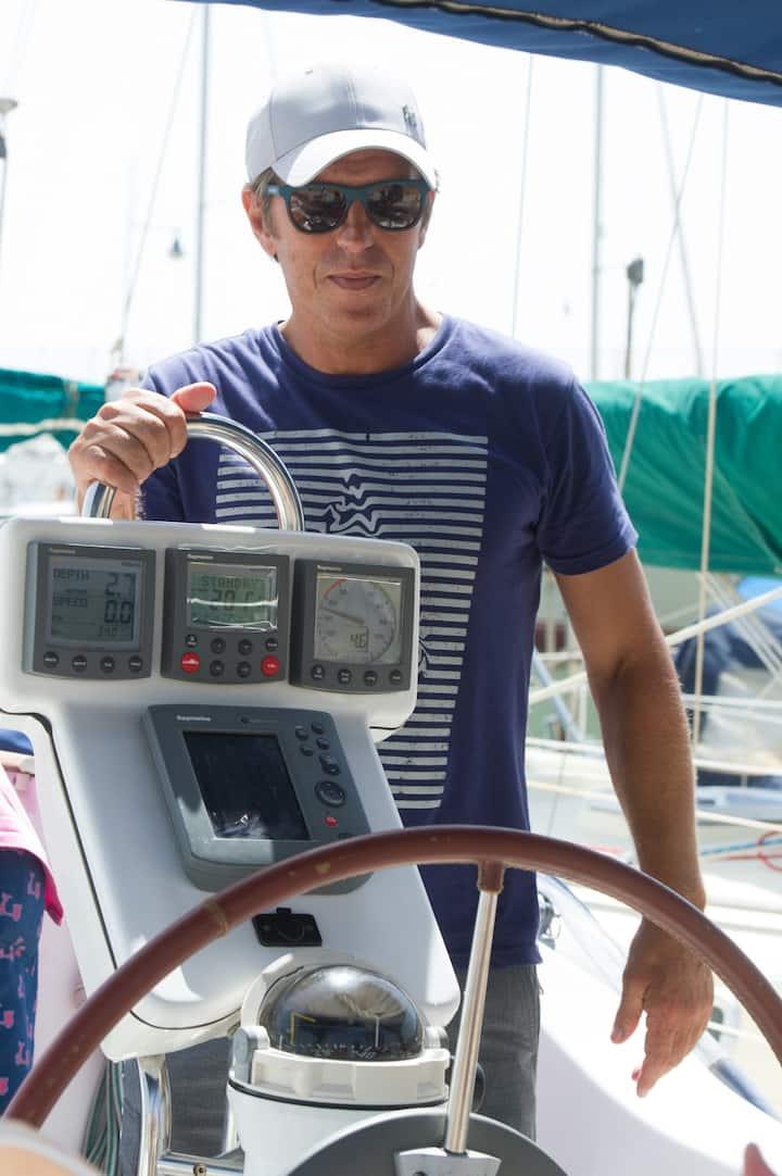"""Manuel Diaz """"El Cordobes"""" a bordo"""