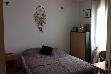 chambre d'hôte confortable  au calme - Rillieux-la-Pape - Casa