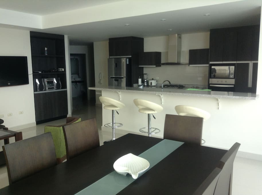 Beautiful finishes and open-concept kitchen