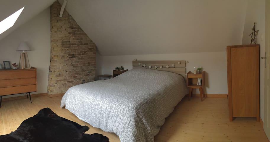 Chambre chaleureuse au coeur de Saint-Omer - Saint-Omer - Apartmen