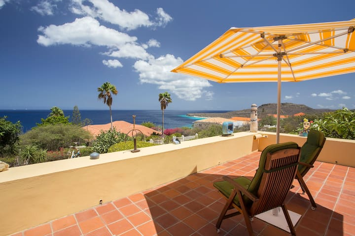 Ocean view villa Cas Abou for 6 guests - Willemstad - Villa