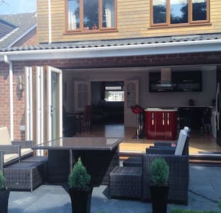Detached family house next to beach - Formby - Haus