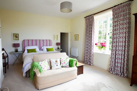 Elegant, welcoming rooms in a Devon farmhouse - Tiverton - Bed & Breakfast