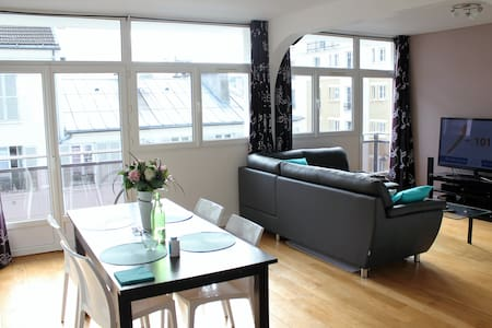 Sunny room next by the eiffel tower - Paris - Appartement