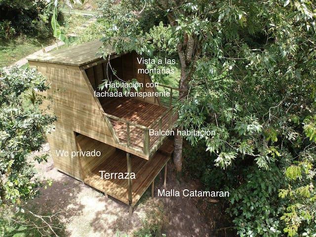 Naos(casa del árbol)by Terramaga Glamping Colombia