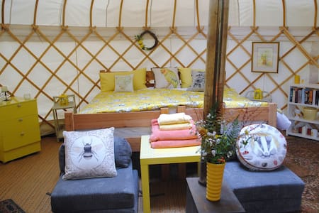 Buttercup Yurt - Silligrove Farm