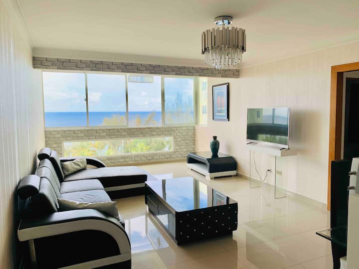 Luxury Beachfront Condo with Pool and Security