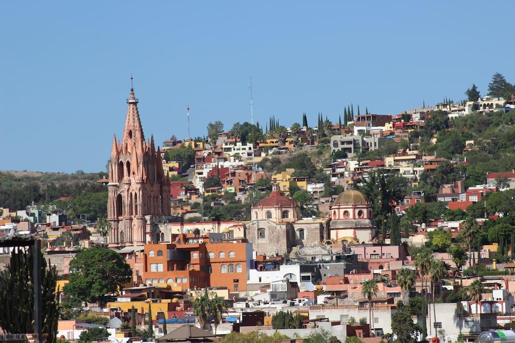 Terraces overlooking Vista desde la segunda terraza