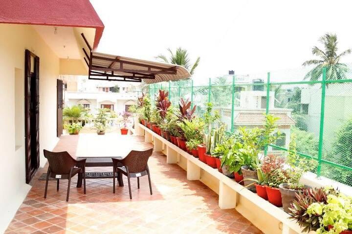 Auroma's abode - Puducherry - Huis