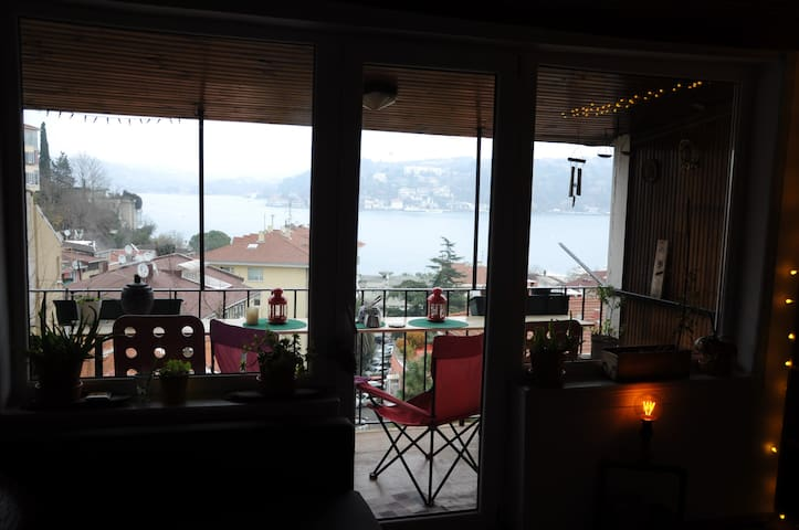 Cute home with Bosphorus view