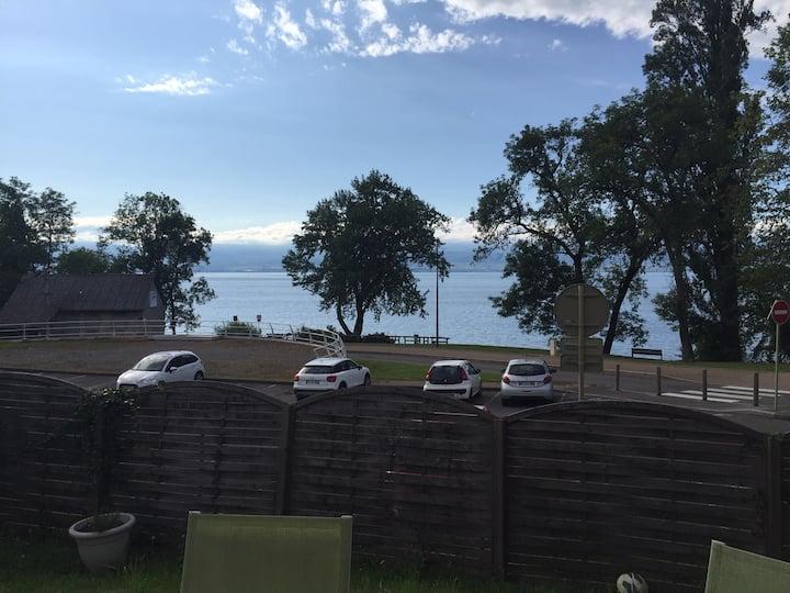 Appartement Thonon au bord du lac