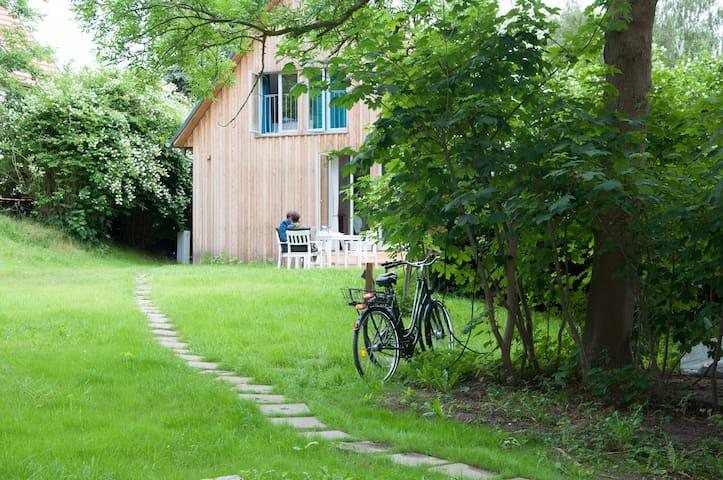 Nachhaltiges Ferienhaus, Insel Hiddensee, autofrei - Insel Hiddensee - Rumah