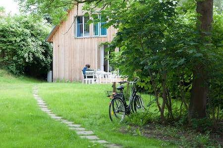 Nachhaltiges Ferienhaus, Insel Hiddensee, autofrei - Insel Hiddensee - Haus