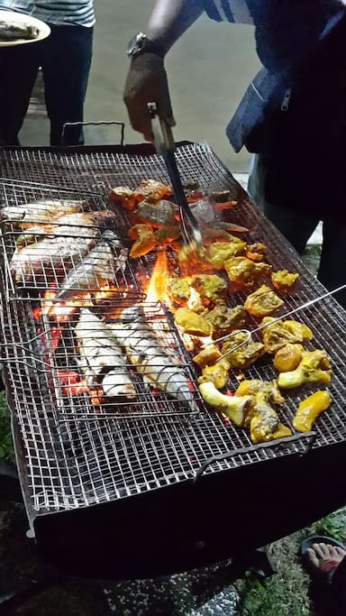 BBQ Dinner at Homestay Roemahkoe