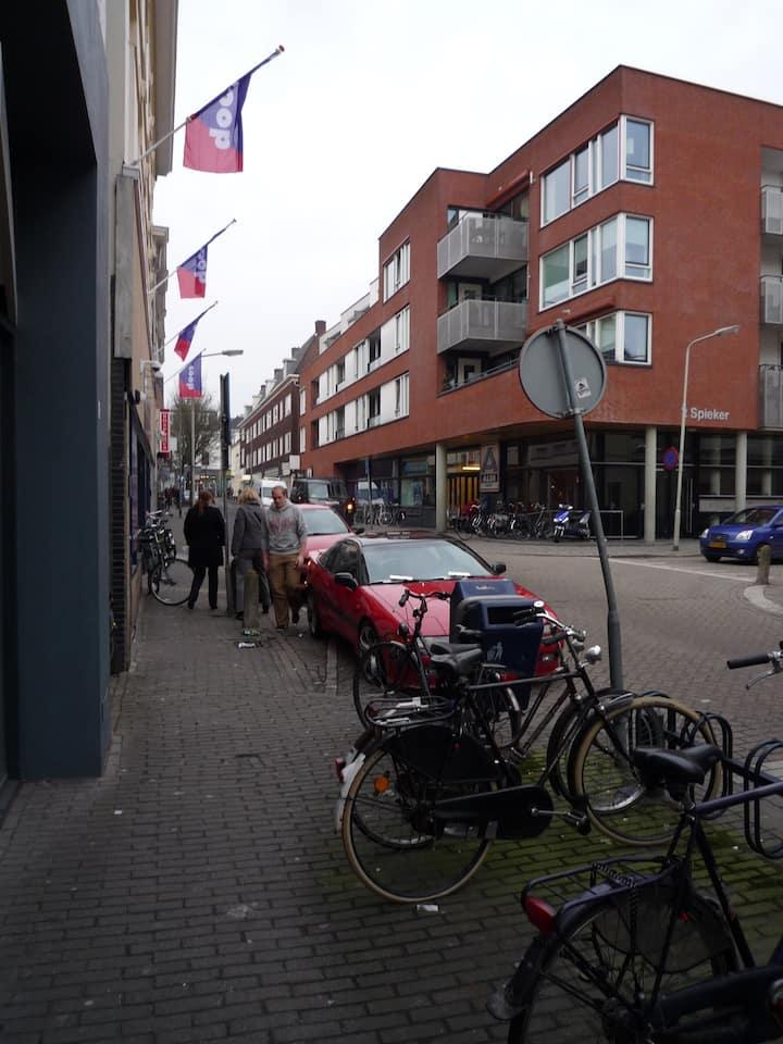 Apartement in de levendige wijk Spijkerkwartier