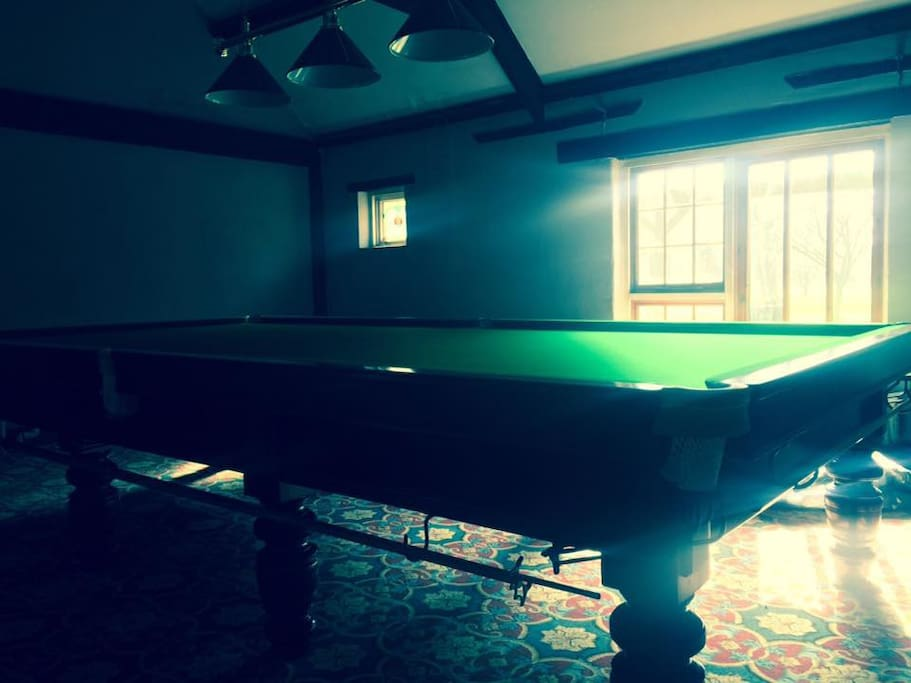 New Snooker Room available to guests.