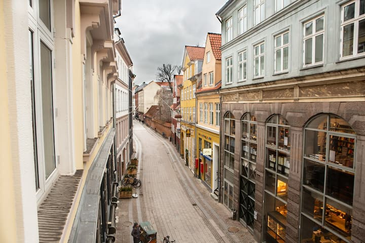 Newly renovated wonderful light apartment on Nygade 3 in the heart of city center, close to all the Copenhagen attractions
