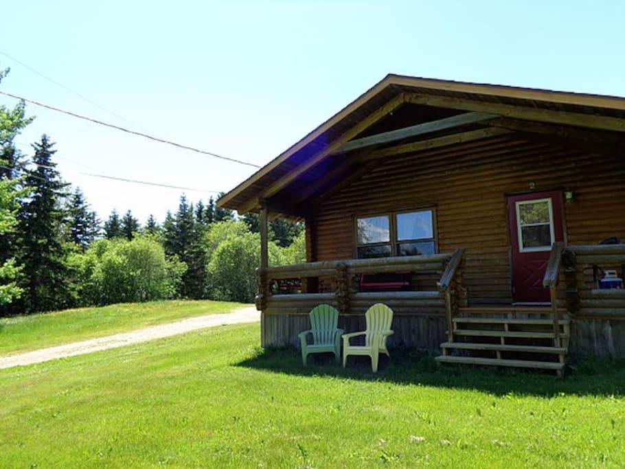 Cajun cedar log cottages double 1 cottages for rent in for Cajun cottages