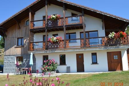 Gîte montagne - La Bresse - Pondok alam