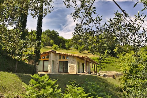 Eco Lodge - modern design house, quiet, panoramic